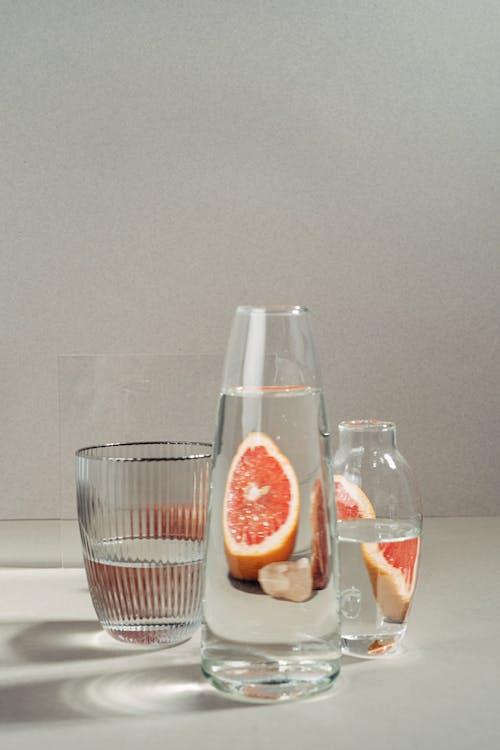 Fotos de stock gratuitas de botellas de vidrio, estudio, fondo