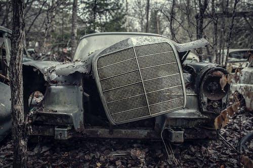 Photo of a Broken Car