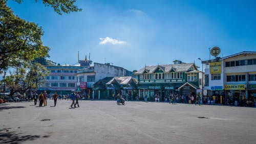 Free stock photo of bank, darjeeling, hill, hill station
