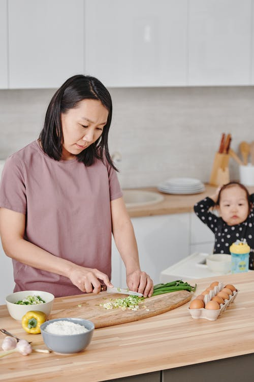 Photo Of Woman Cooking