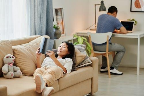 亞洲女人, 亞洲女性, 休閒 的 免費圖庫相片