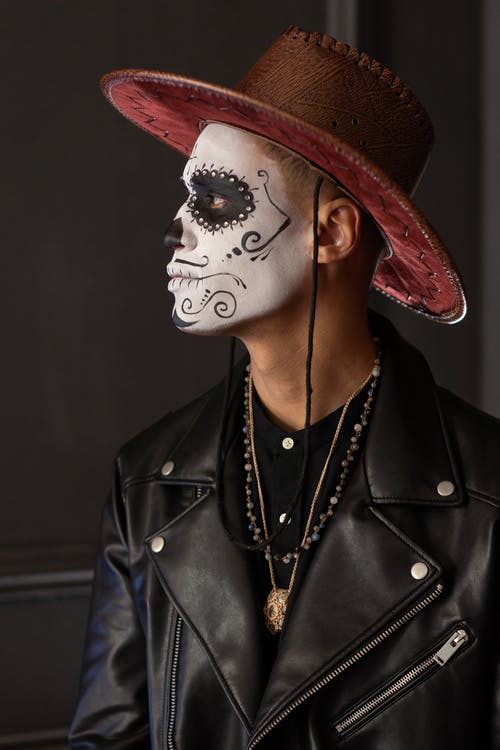 A Man with Face Paint