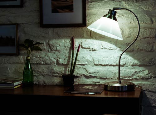 Free stock photo of bar cafe, coffee table, desk lamp