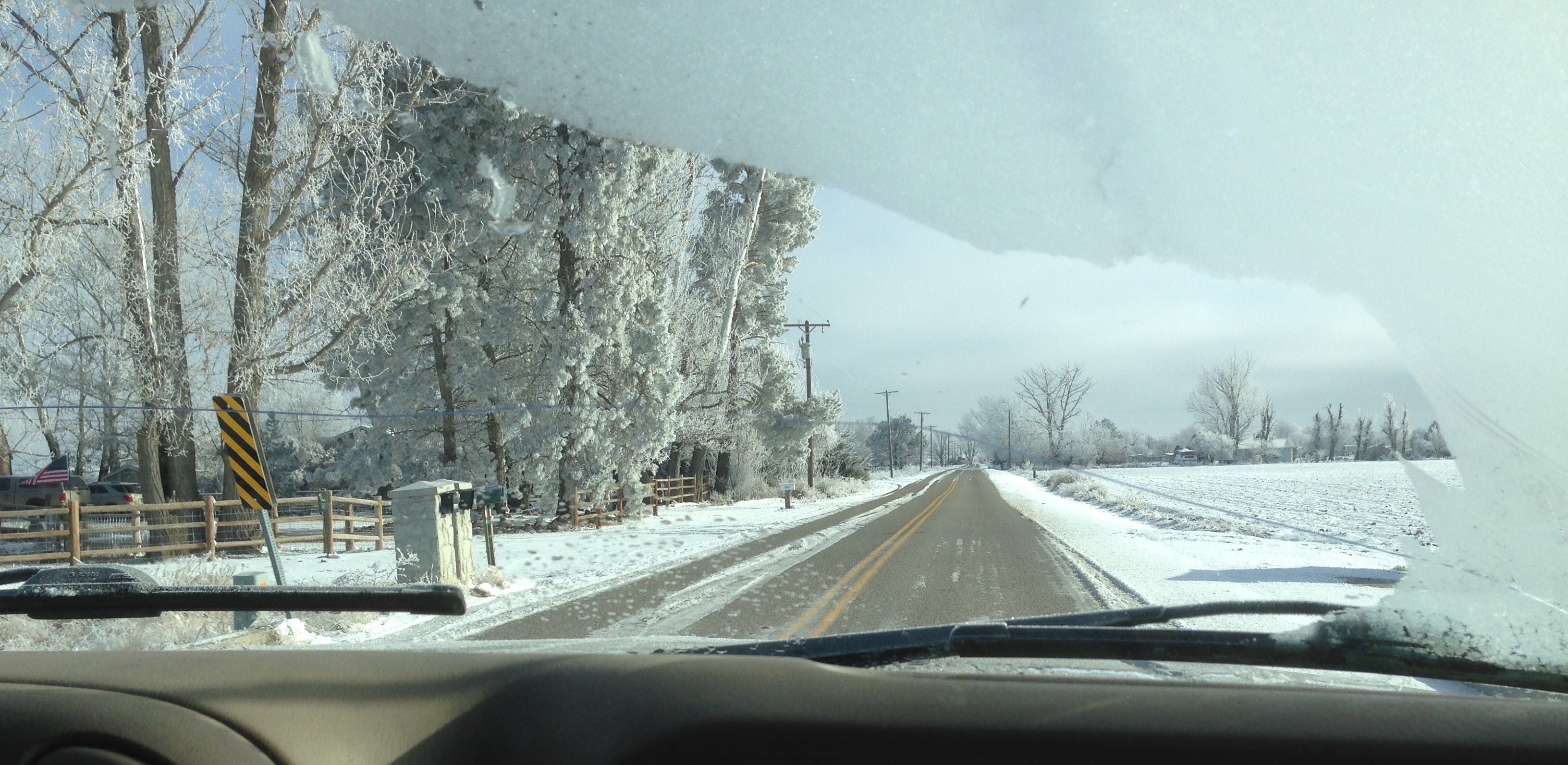 Free stock photo of cold, snow, road, ice