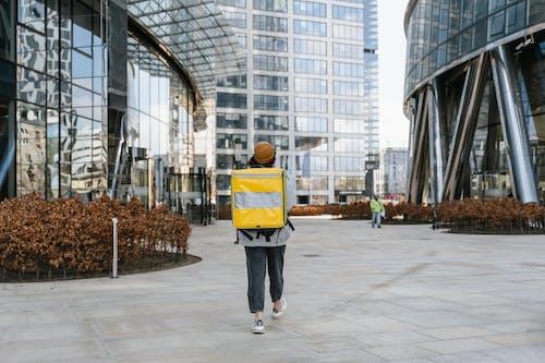 Deliveryman Walking