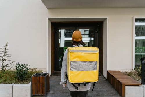 Person Carrying a Bag