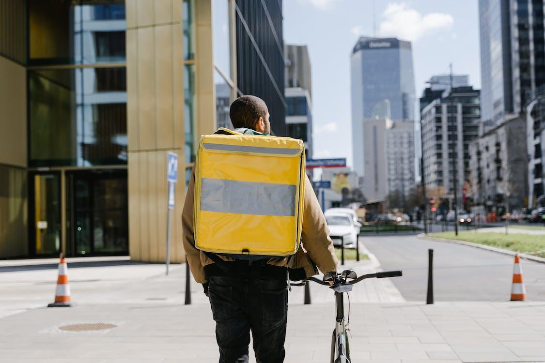 Man Carrying a Bag