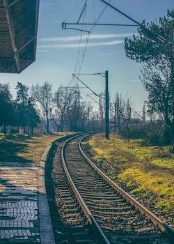 Free stock photo of sunny, train station, railroad
