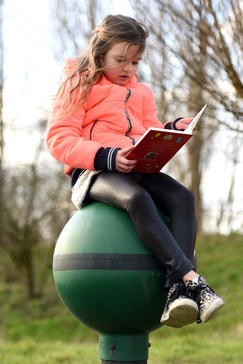 Free stock photo of adolescent, book reading, child