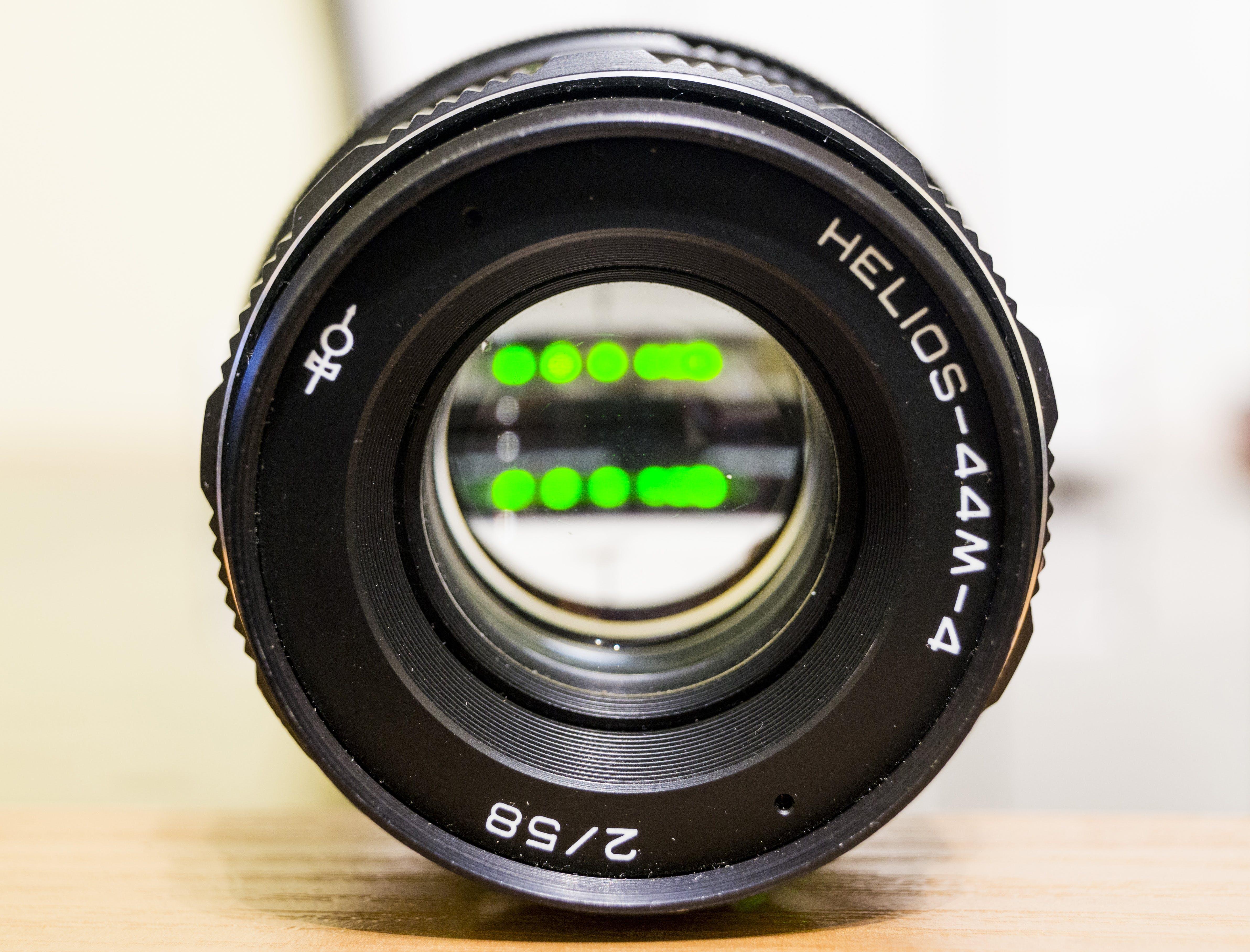 Free stock photo of lens, helios, 44m 4
