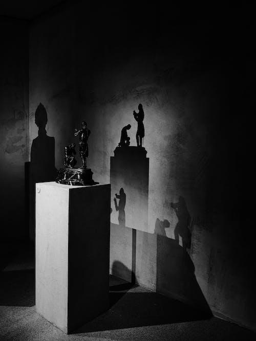 Fotos de stock gratuitas de arquitectura, Arte, blanco y negro