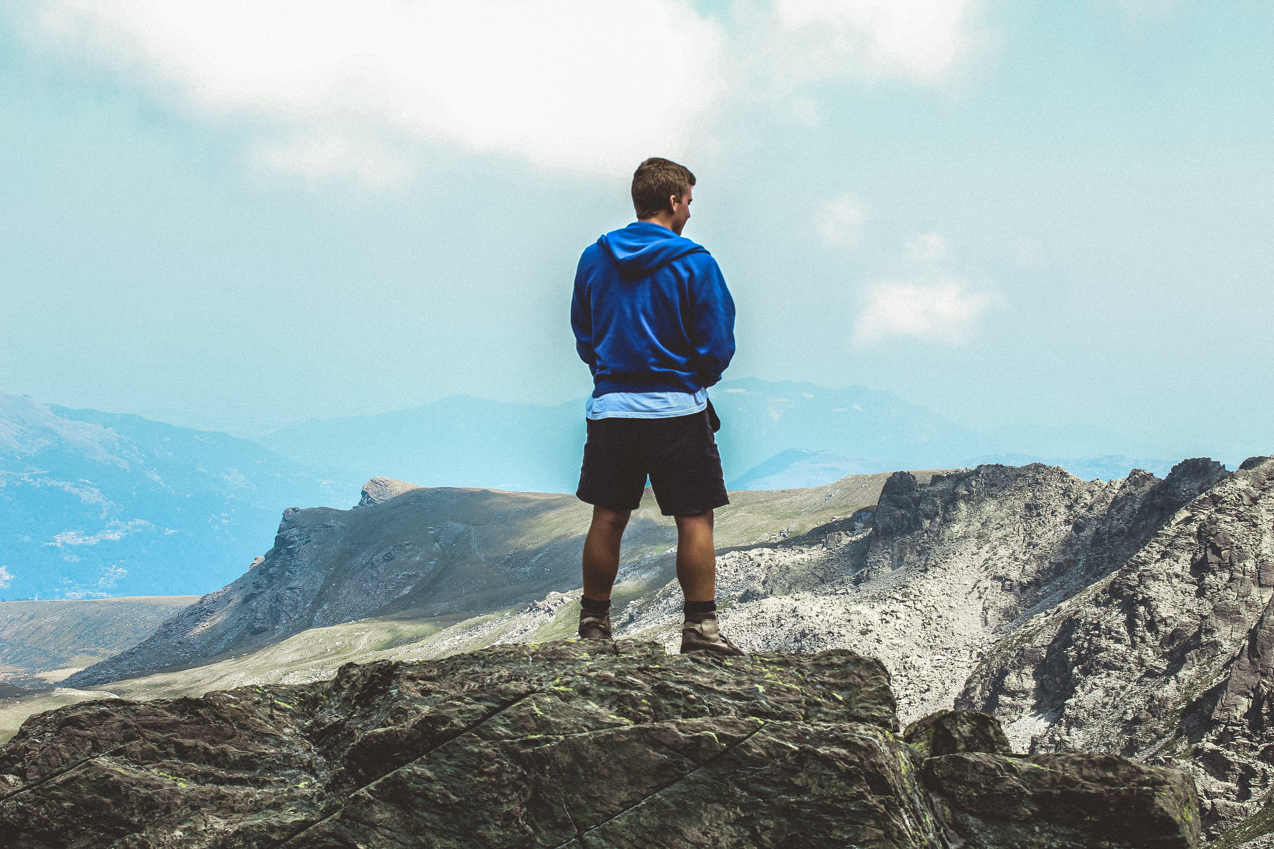 abenteuer, berg, bergsteigen