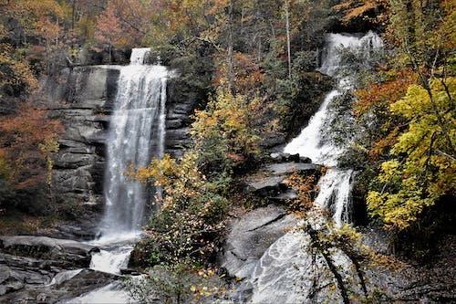 Free stock photo of twin falls