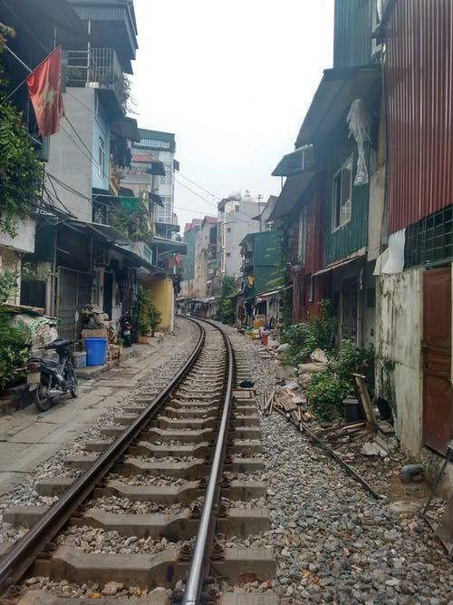 Free stock photo of Hanoi, rails, railway track, vietnam