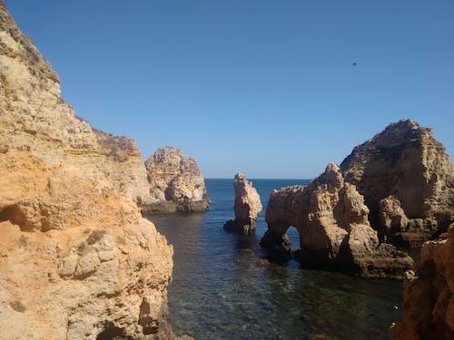Free stock photo of rocky coast, sea
