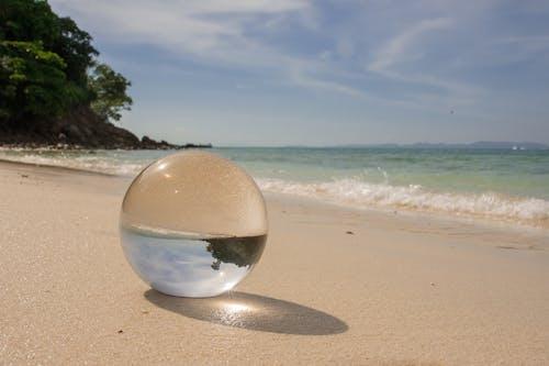 Free stock photo of beach, crystal ball, sand