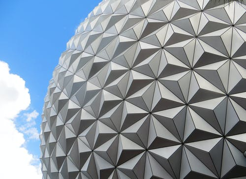 Gray High-rise Dome