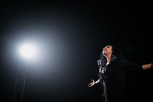 Fotos de stock gratuitas de actuación en vivo, artista, cantando