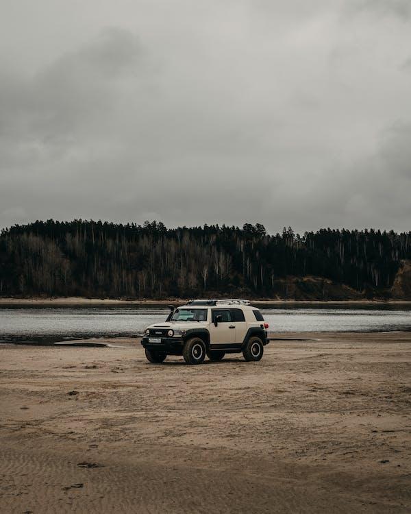 Free stock photo of automotive, beach, car