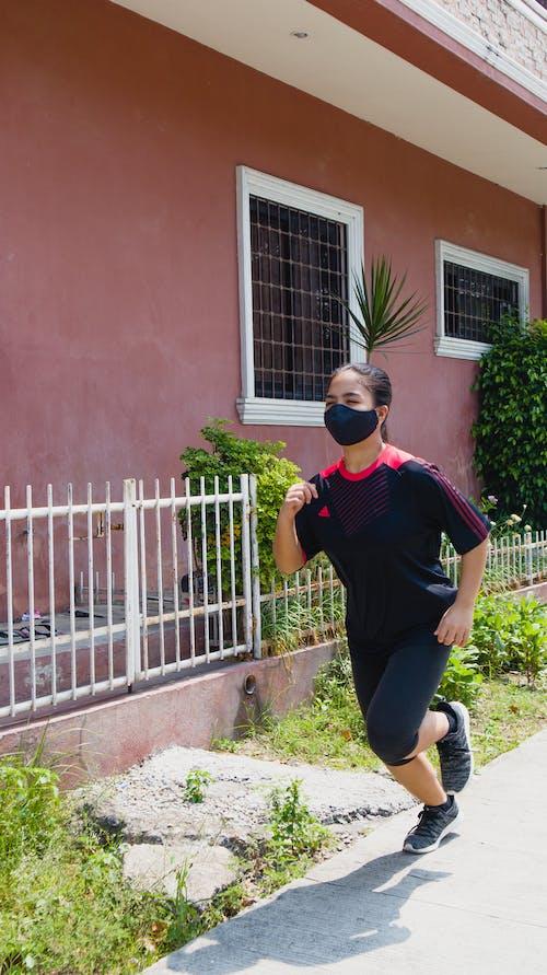 Foto stok gratis aktif, atletis, berlari