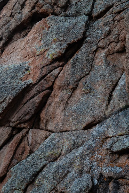 Close Up Photo of Brown Rock Formation