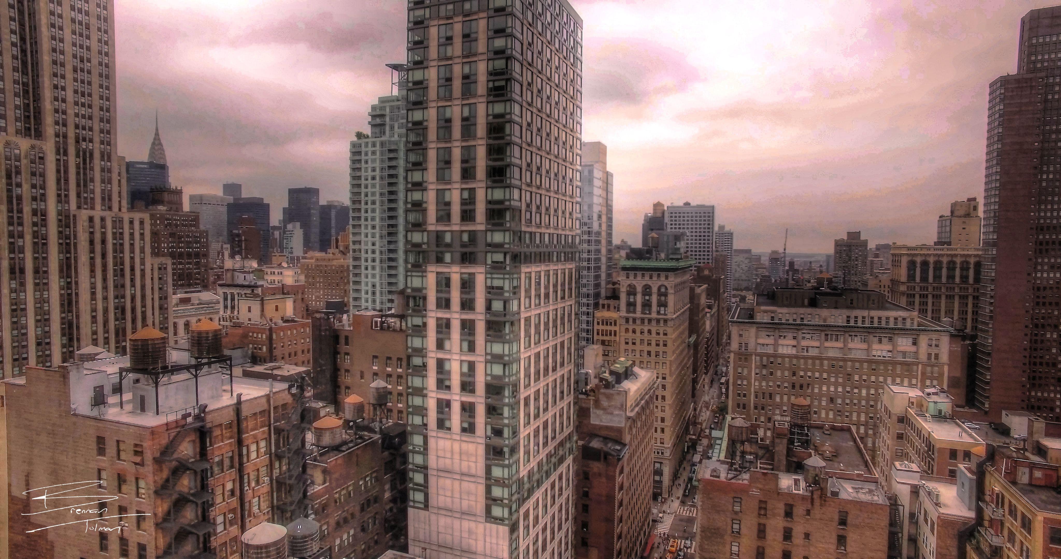 Free stock photo of buildings, new york, new york city, skyline
