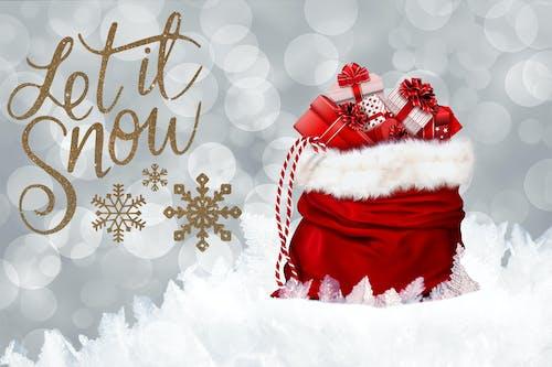 Gratis stockfoto met glimmend, goud, humeur, laat het sneeuwen