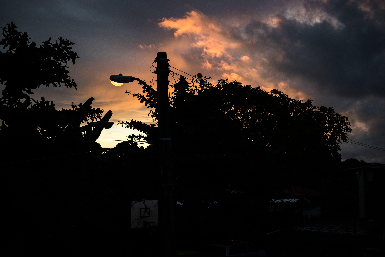 Gratis lagerfoto af Canon, lygtepæl, morgensol, solopgang