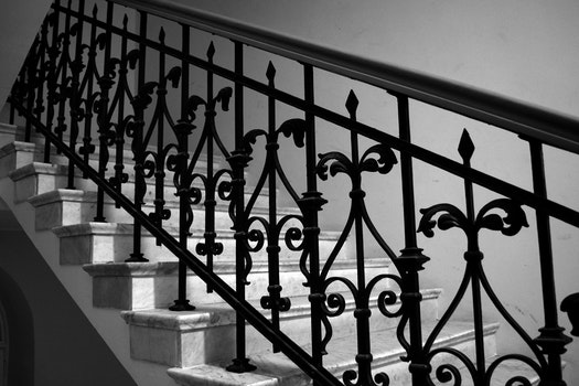 Free stock photo of stairs, warsaw, handrail
