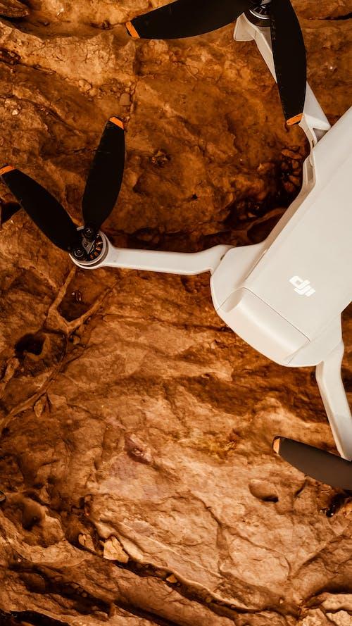 A Drone on a Rock