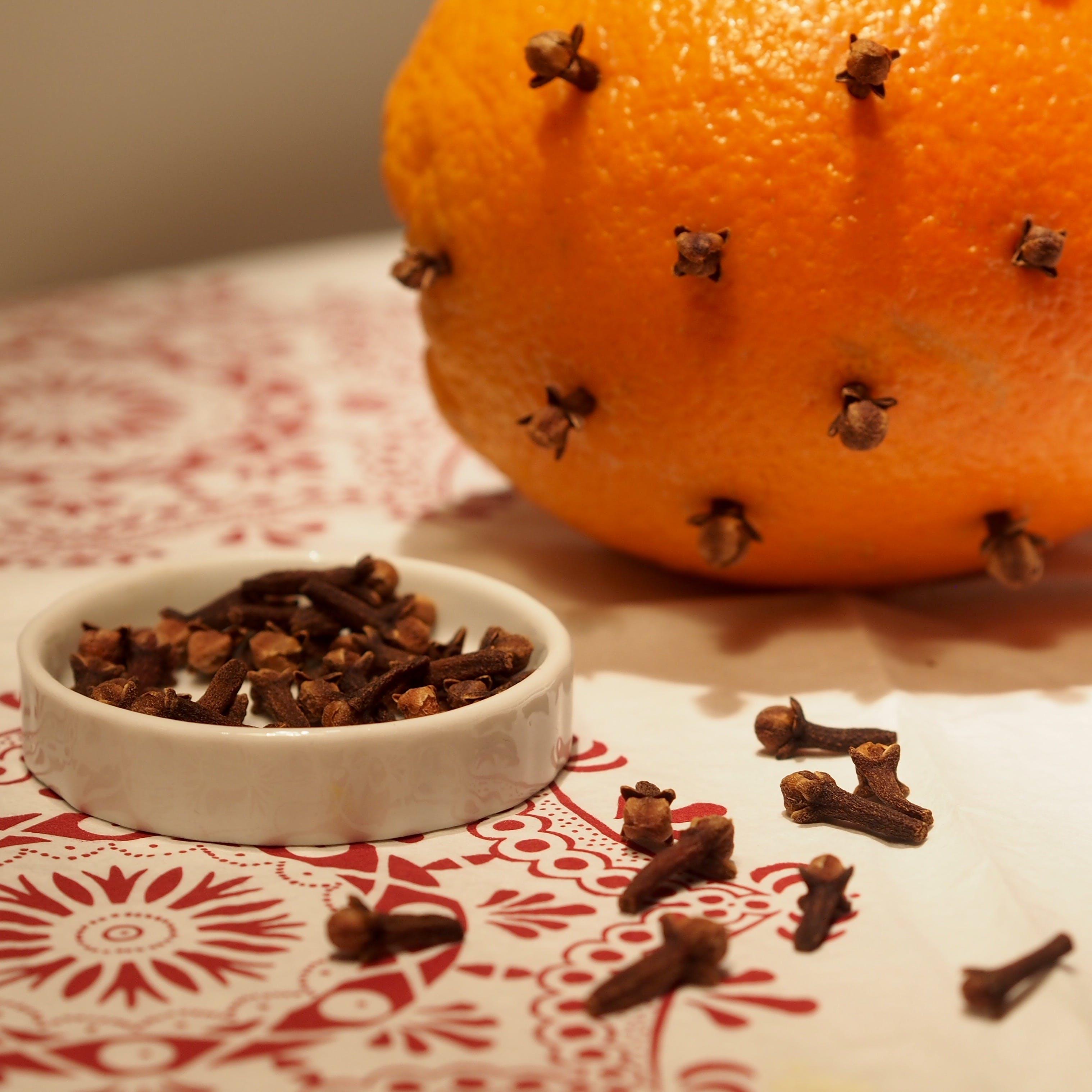 Free stock photo of orange, decoration, tradition, cloves