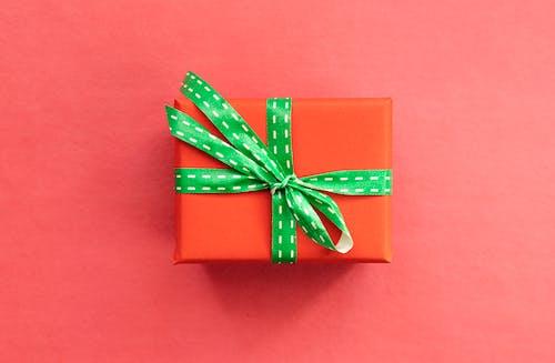 A Close-Up Shot of a Gift Box