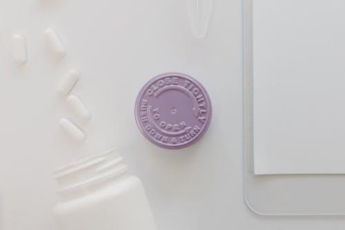 Darmowe zdjęcie z galerii z białe tło, czysty, fioletowy
