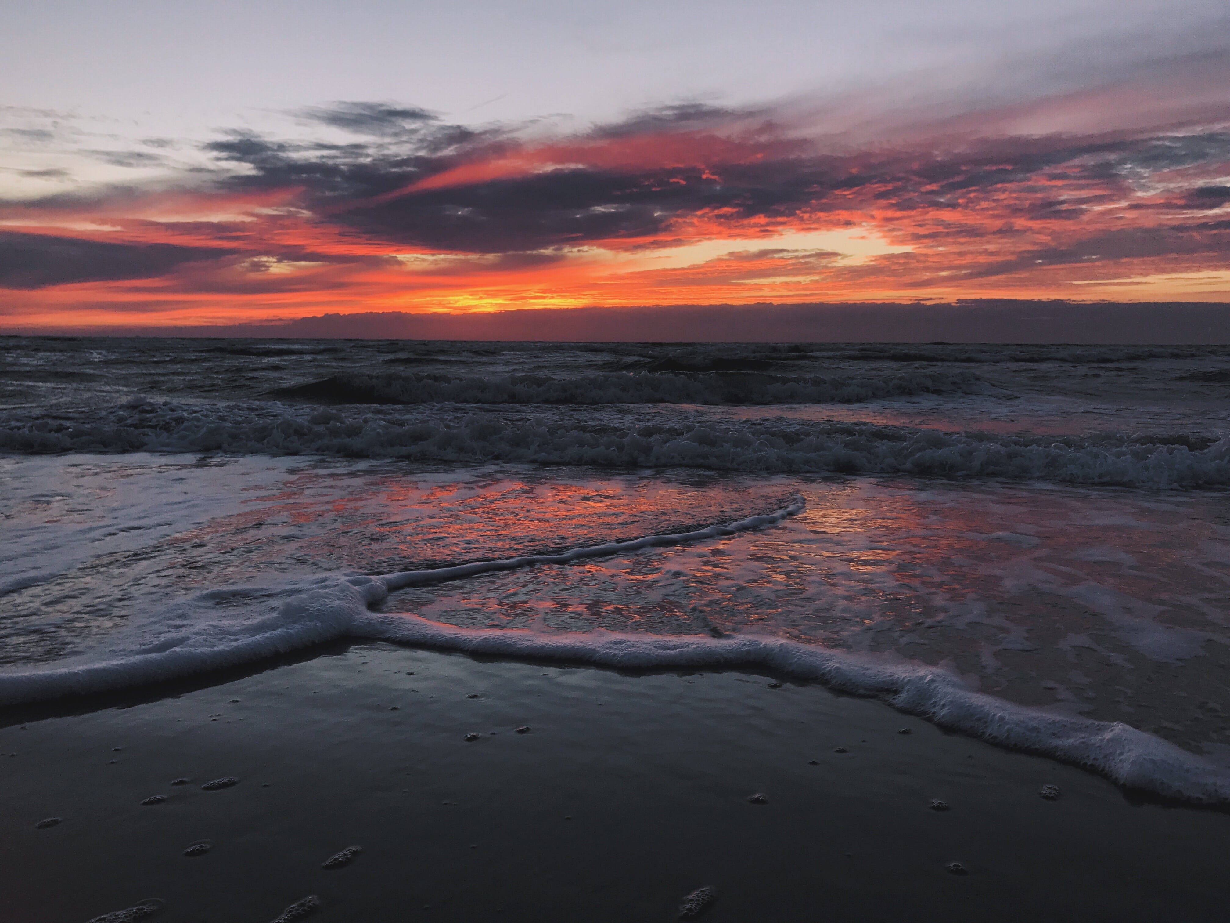 Gratis lagerfoto af aftensol, hav, solnedgang
