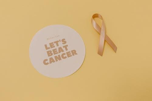 düz yüzey, ileti, kanser bilinci içeren Ücretsiz stok fotoğraf