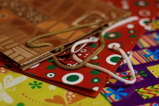 Free stock photo of night, bag, theme christmas