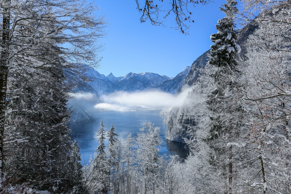 Photography of Mountain Range During Winter