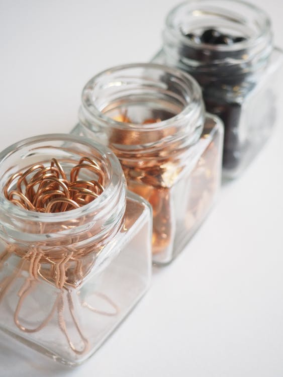 Close-up Photography of Jars