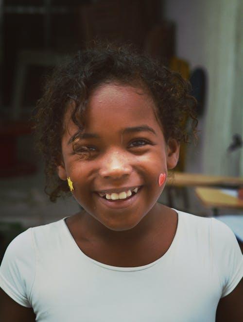 キッズ, スマイル, ブラジル人, 肖像画の無料の写真素材