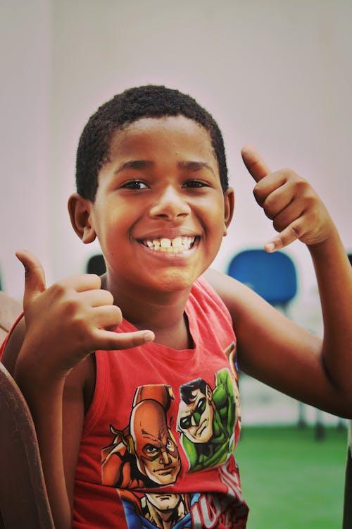 キッズ, スマイル, ブラジル人, 男子の無料の写真素材