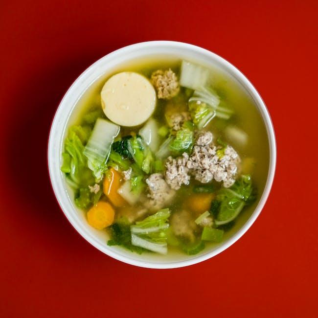 sup hangat