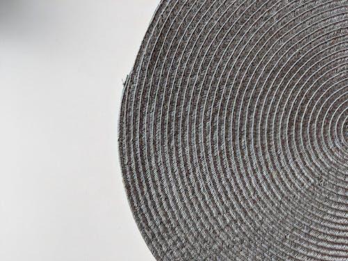 Black Round Textile on White Surface