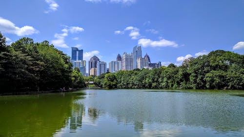 Free stock photo of building, city, city park, cityscape