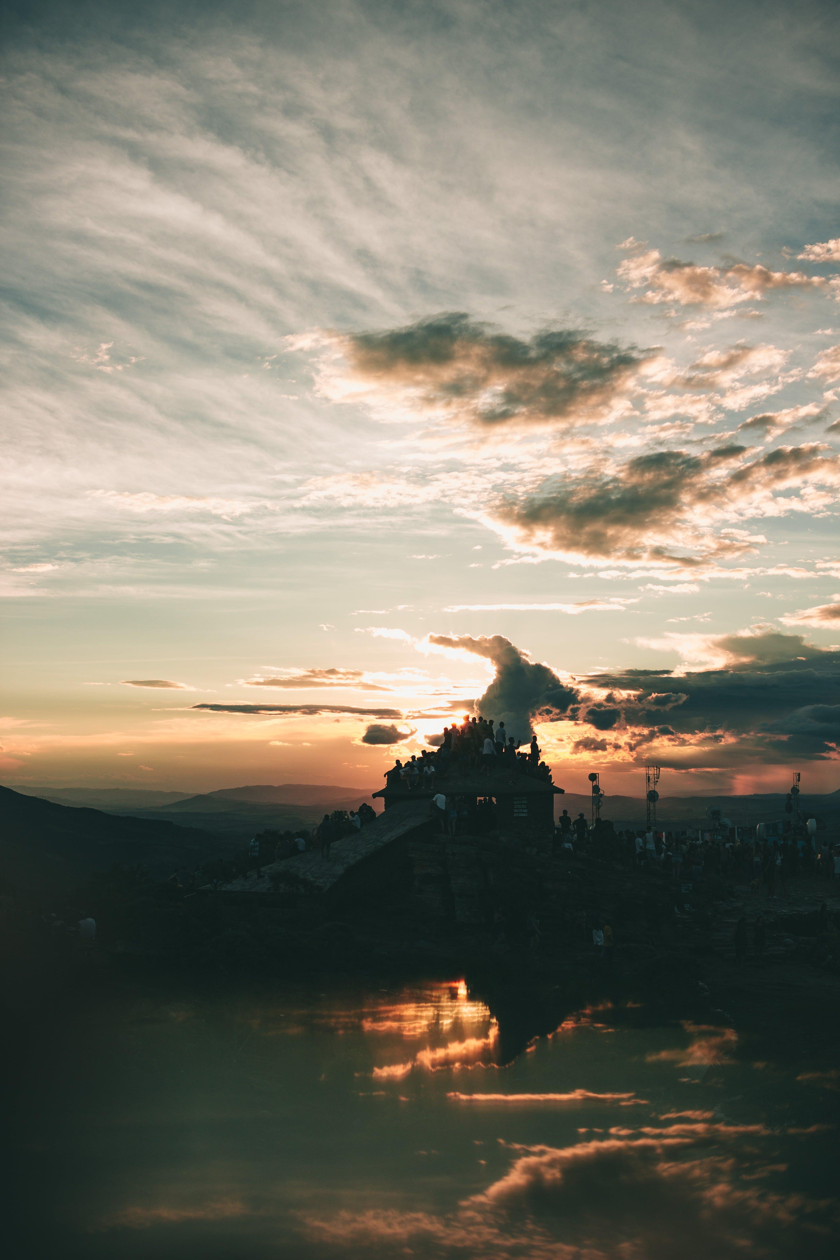 Kostnadsfri bild av apelsin, bakgrundsbelyst, dagsljus, gryning