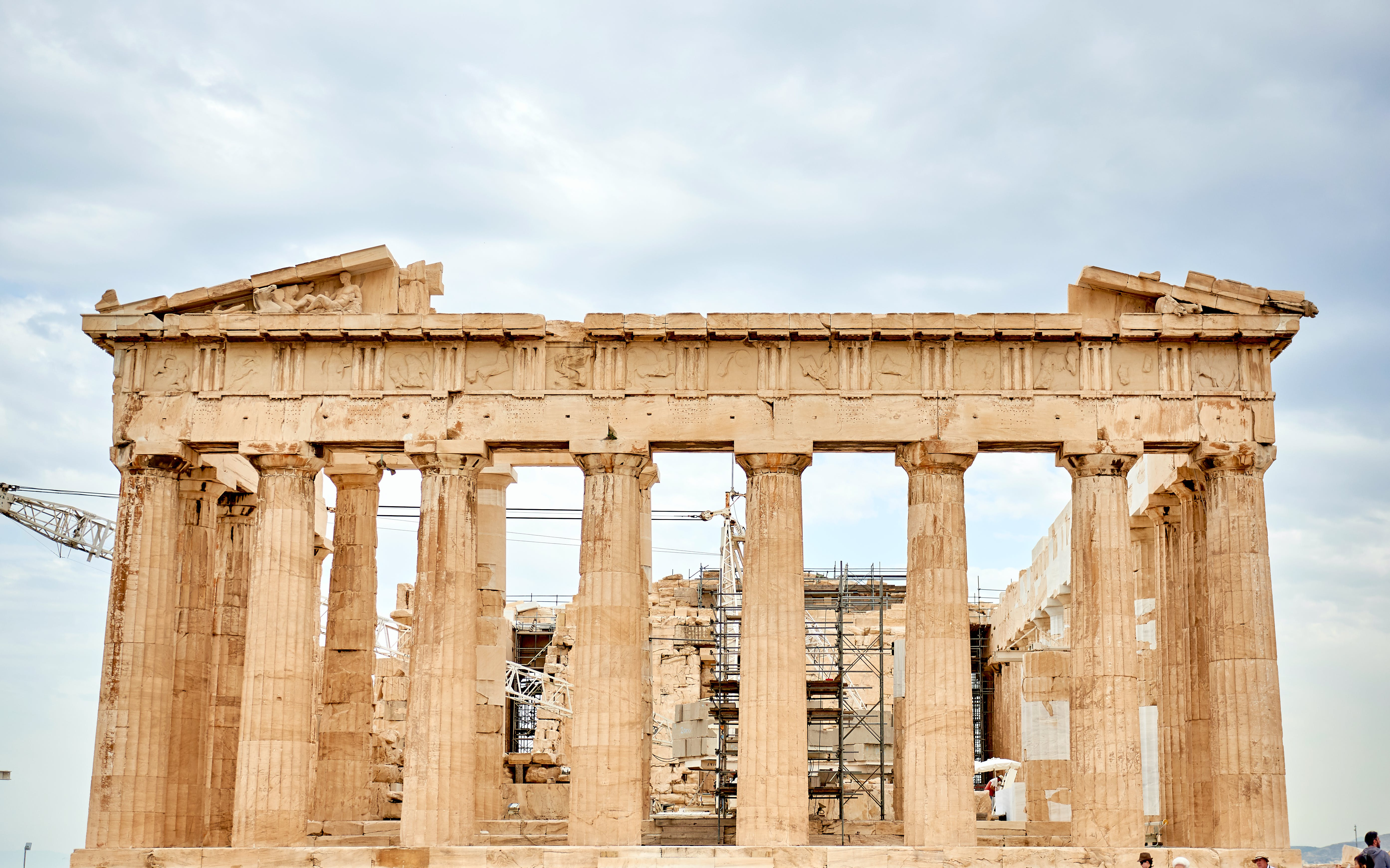 Foto d'estoc gratuïta de arqueologia, arquitectura, Atenes, columnes