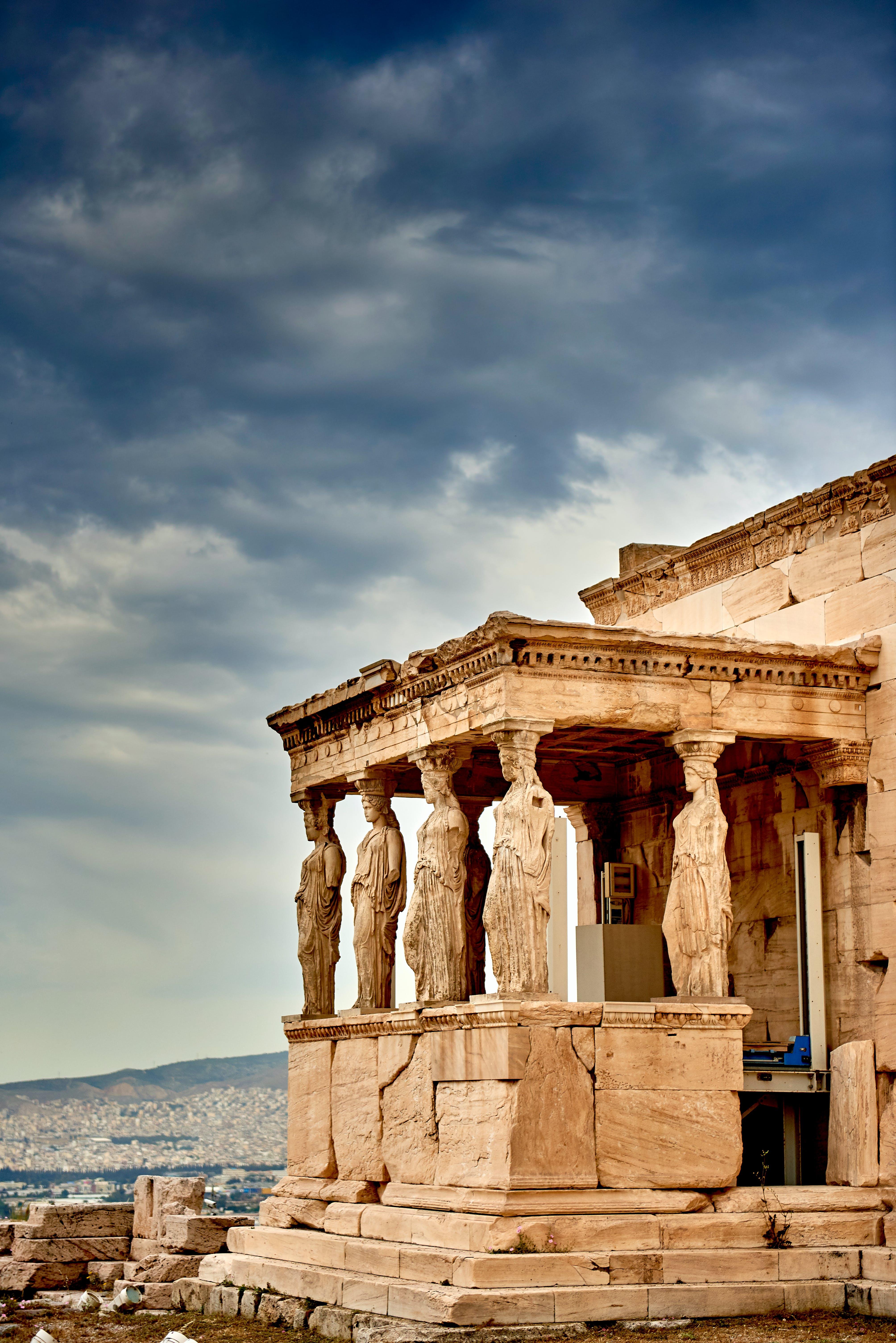 Fotos de stock gratuitas de arquitectura, Atenas, atracción turística, columnas