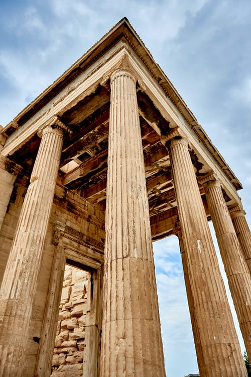 Kostenloses Stock Foto zu akropolis, alt, antik, antiquität