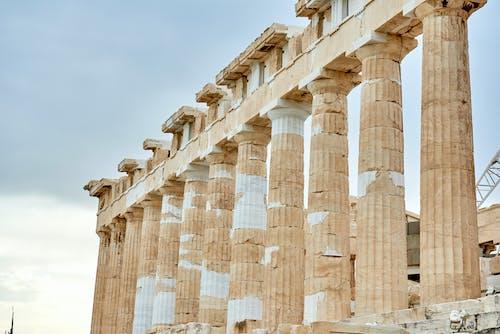 列, 古老的, 寺廟, 希臘 的 免費圖庫相片