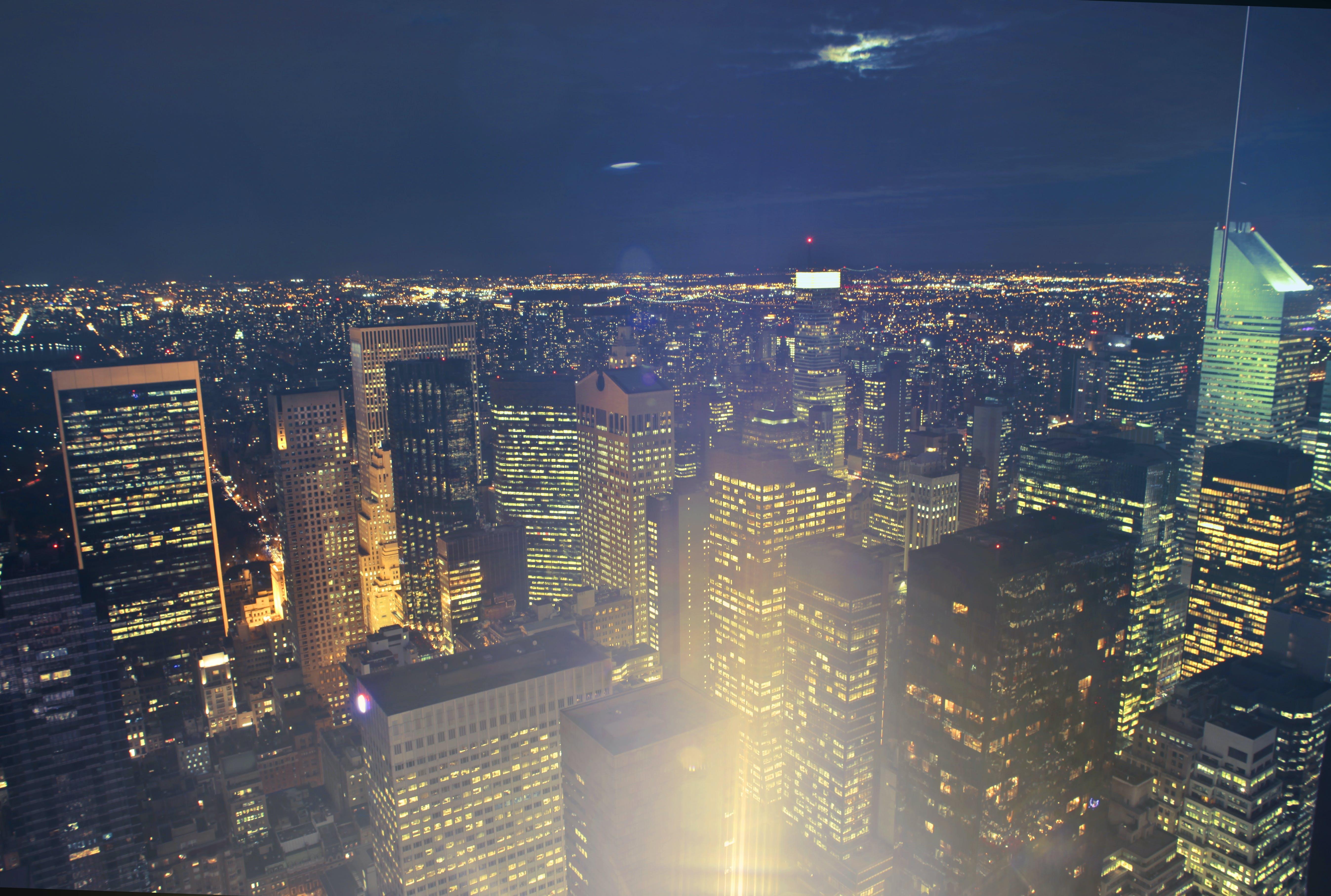 City Building Lights