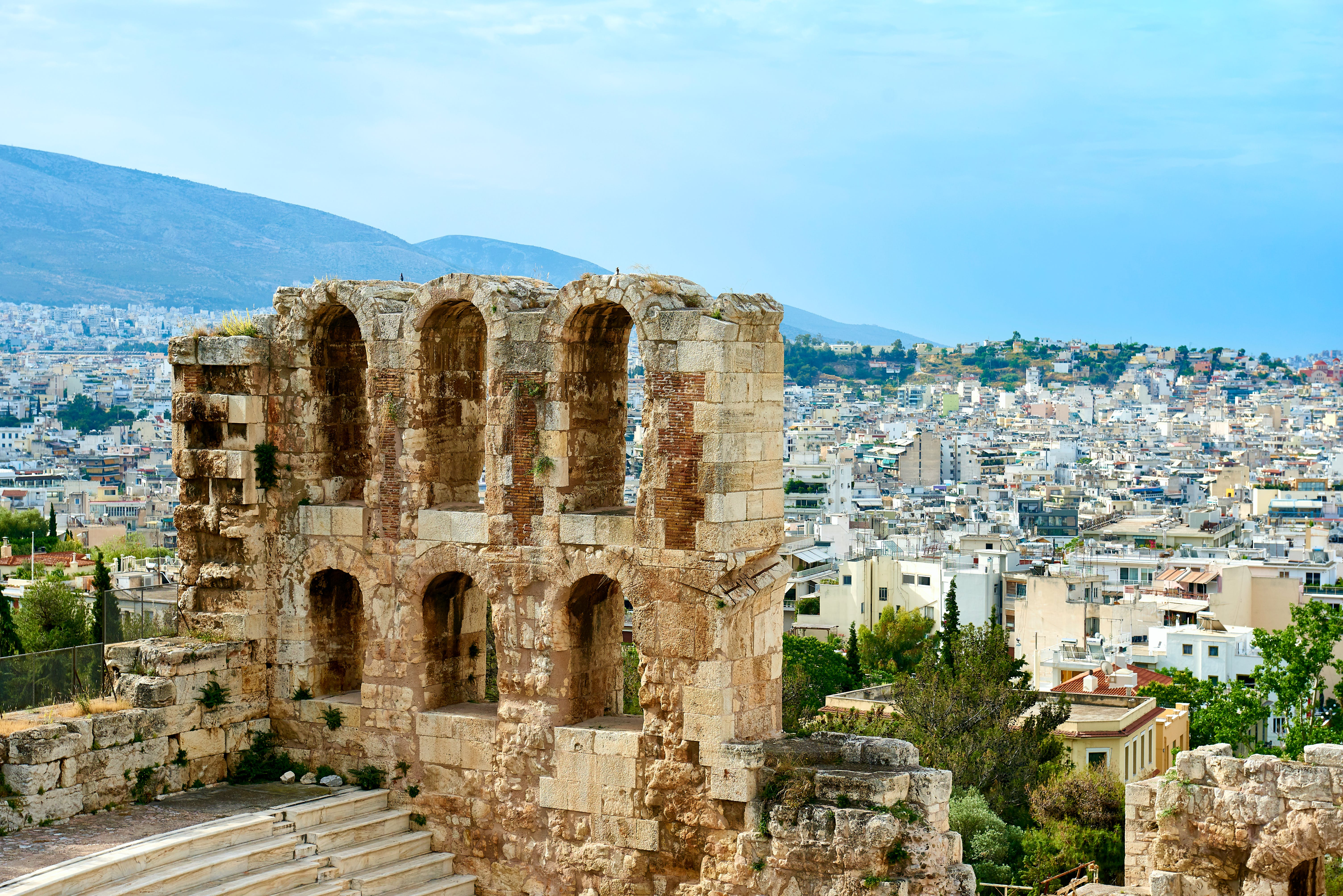 Fotos de stock gratuitas de acrópolis, arquitectura, Atenas, atracción turística